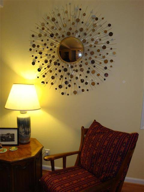 Boulton Design And Fabrication Home Constellation Mirror Custom Throughout Bronze Starburst Mirrors (#8 of 20)