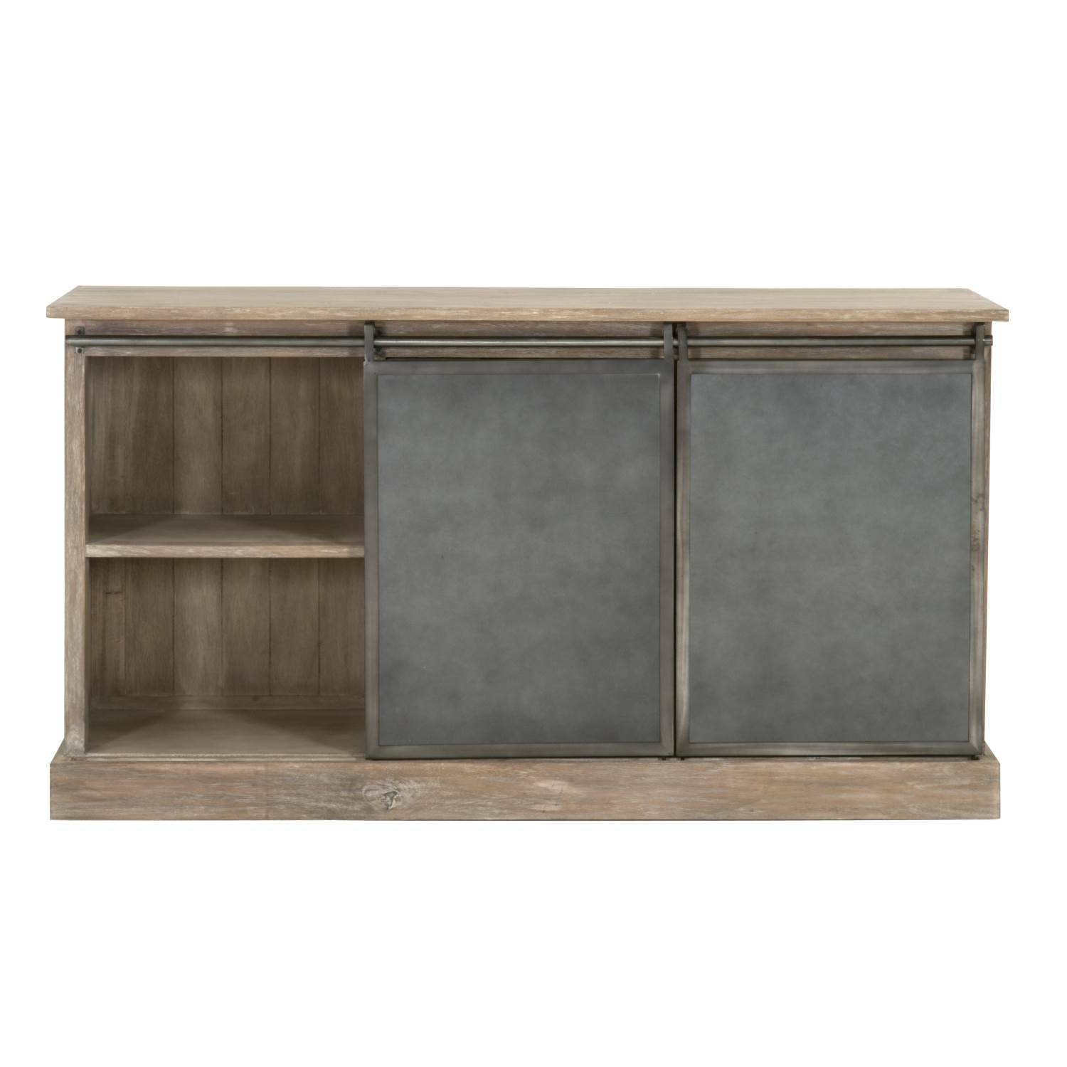 Bowery Sideboard Intended For Grey Wood Sideboard (#3 of 20)