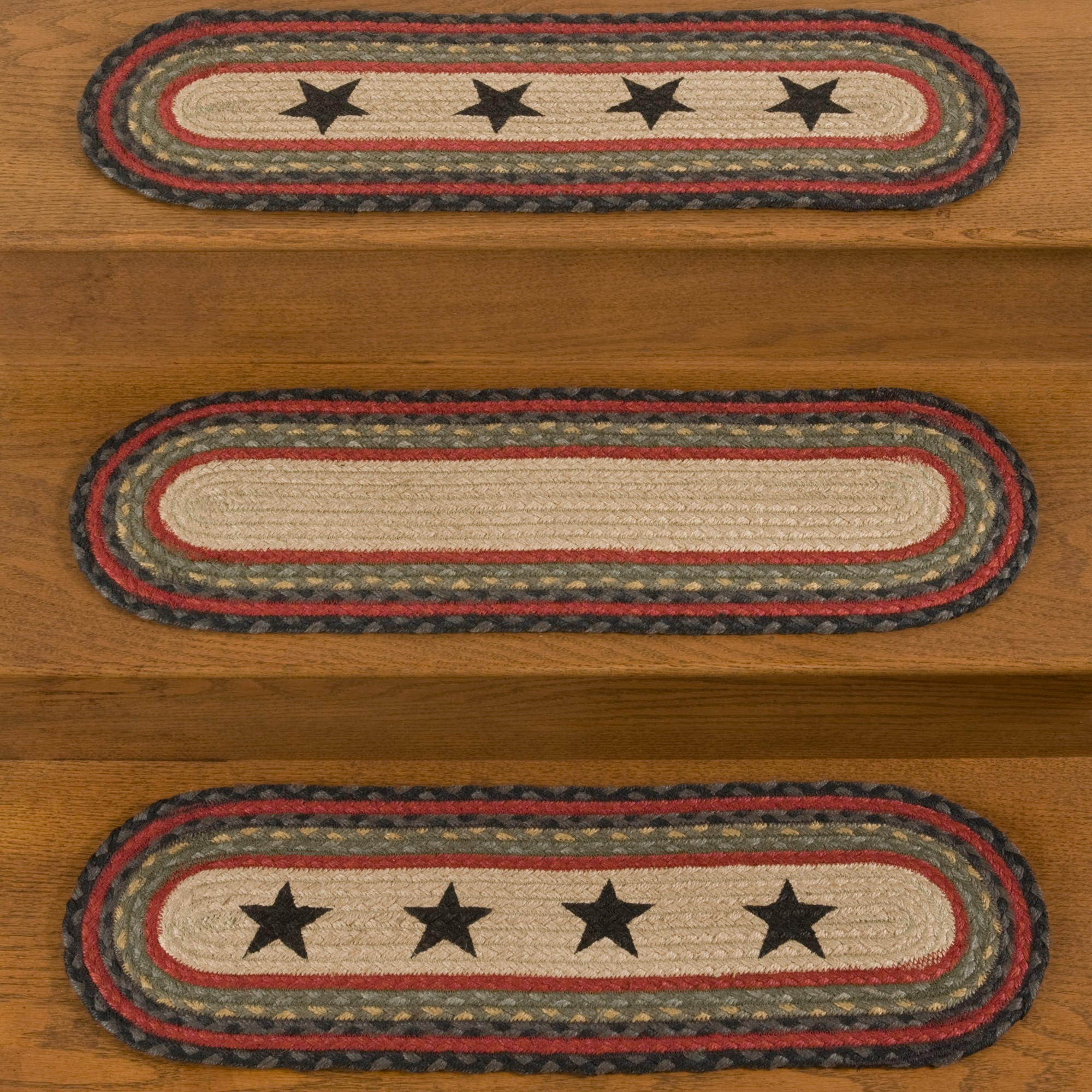 Braided Rugs For Stairs Roselawnlutheran Intended For Colonial Mills Stair Tread Rugs (#6 of 20)