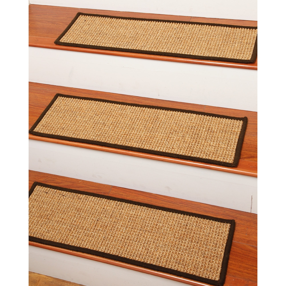 Braided Stair Tread Rugs Roselawnlutheran Within Rectangular Stair Tread Rugs (#5 of 20)