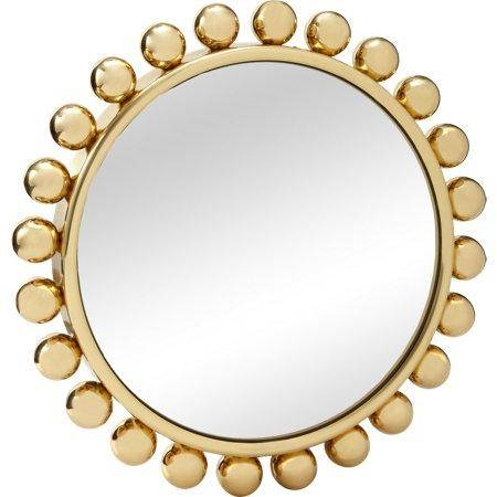 Brass Framed Collier Mirror For Brass Mirrors (#5 of 15)
