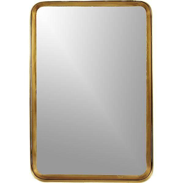 Brass Mirror Throughout Brass Mirrors (#4 of 15)