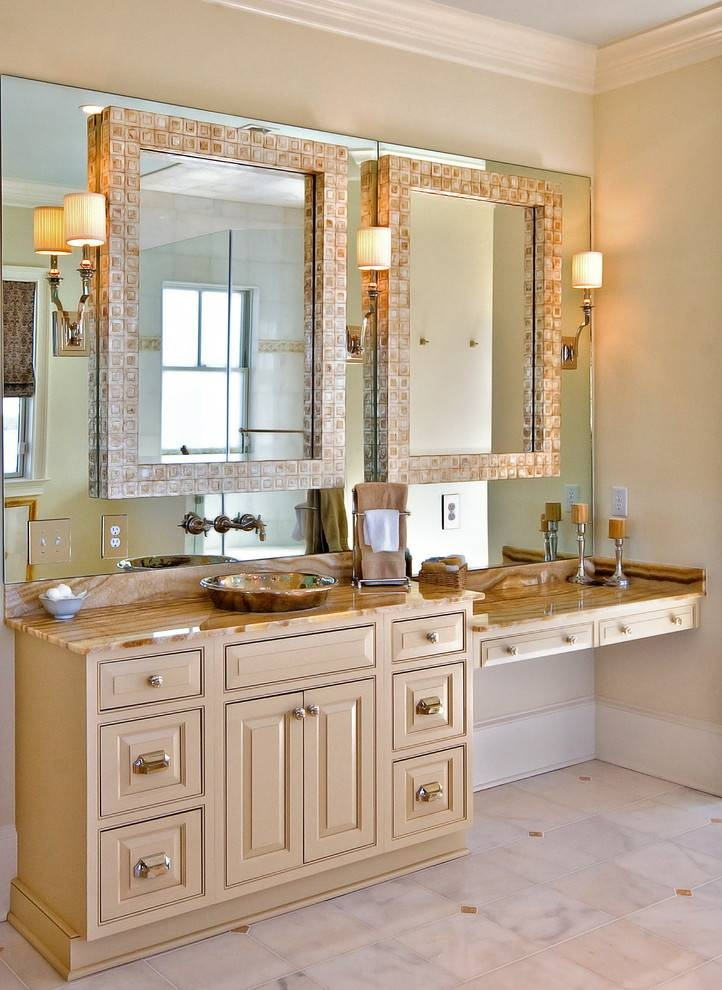 Breathtaking French Wall Mirrors Decorating Ideas Images In Inside French Bathroom Mirrors (#16 of 30)