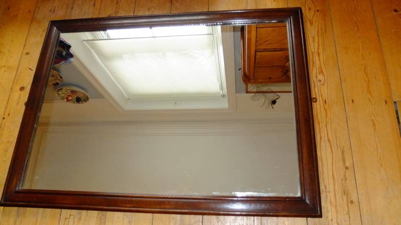 Briggs & Oliver Antiques Holmfirth Huddersfield West Yorkshire In Large Oak Framed Mirrors (#6 of 20)