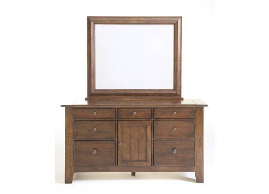 Broyhill Attic Heirlooms Rustic Oak Dresser Mirror 4399 36 In Rustic Oak Mirrors (#3 of 20)