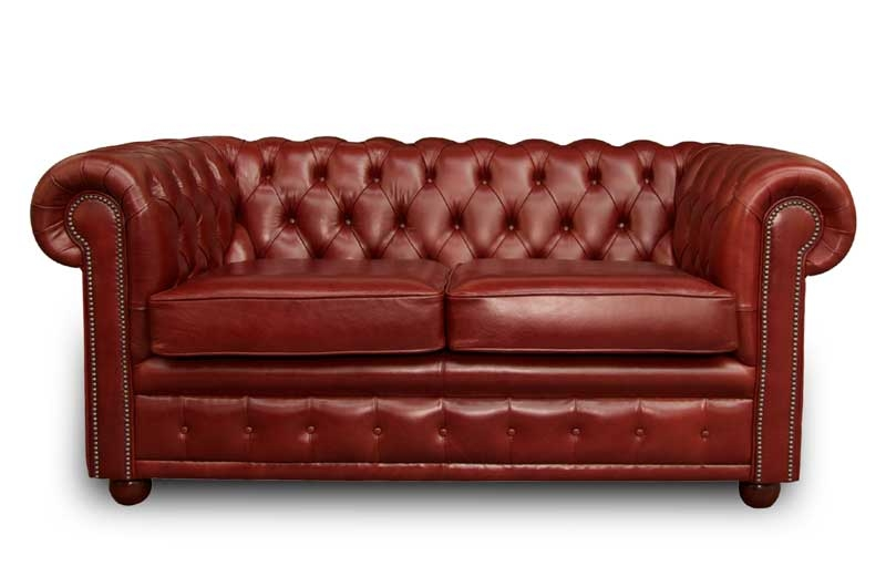 Buckingham Tudor Leather Sofa English Sofas For Classic English Sofas (#4 of 15)