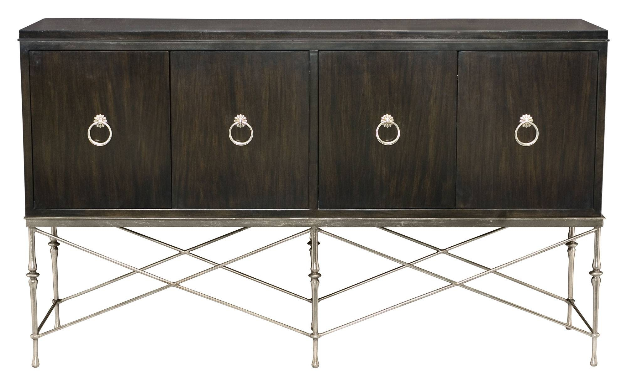 Buffet And Metal Base | Bernhardt With Metal Sideboards Furniture (#4 of 20)