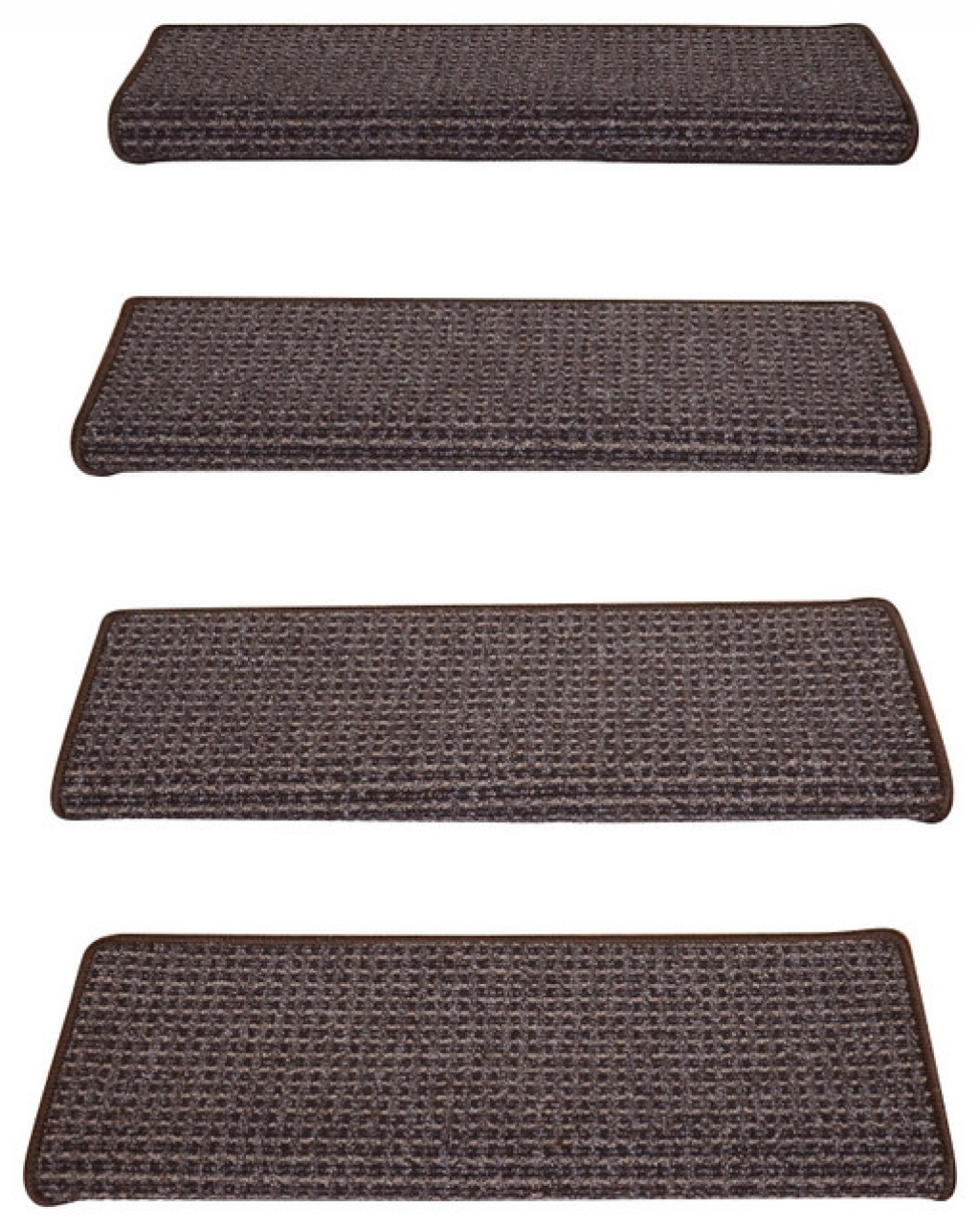 Bullnose Carpet Stair Treads Vandome Inside Peel And Stick Carpet Stair Treads (#4 of 20)