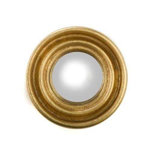 Popular Photo of Gold Round Mirrors