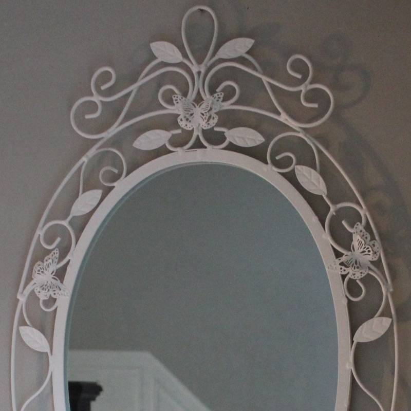 Butterfly Wall Mirror – Melody Maison® For Butterfly Wall Mirrors (#11 of 20)