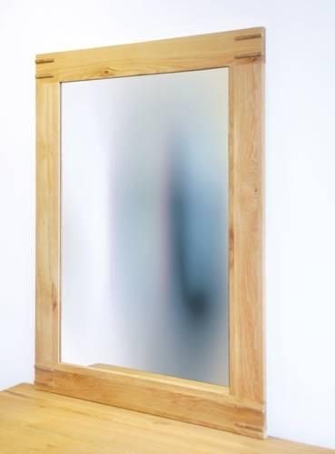 Buy Baumhaus Aston Oak Wall Mirror Online – Cfs Uk With Oak Wall Mirrors (#3 of 15)