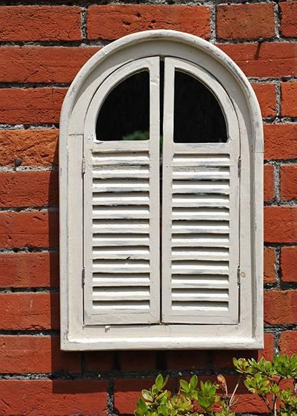 Buy Garden Wall Mirror With Shutters: Deliverycrocus Regarding Wall Mirrors With Shutters (View 6 of 20)