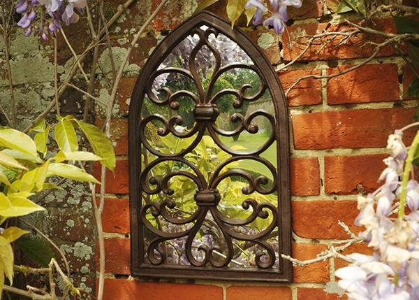 Buy Gothic Wall Mirror: Deliverywaitrose Garden In Association Throughout Gothic Wall Mirrors (#8 of 20)