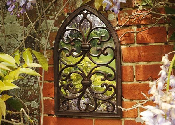 Buy Gothic Wall Mirror: Deliverywaitrose Garden In Association With Gothic Garden Mirrors (#11 of 30)