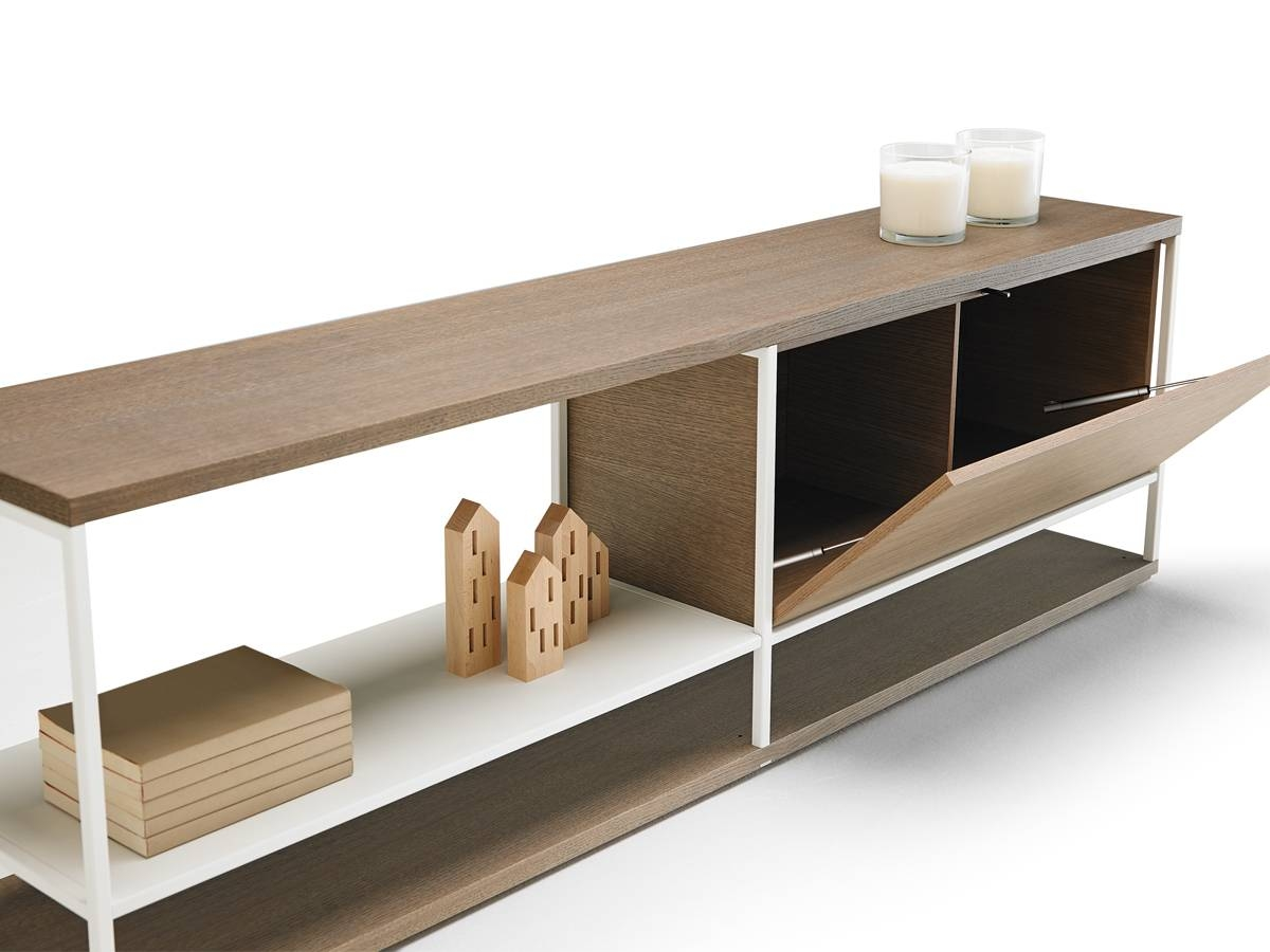 Buy The Punt Literatura Open Low Sideboard At Nest.co (#2 of 20)