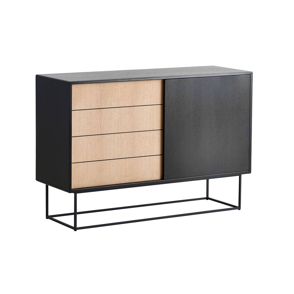 Buy The Woud Virka Sideboard – High | Utility Design For High Sideboard (View 5 of 20)