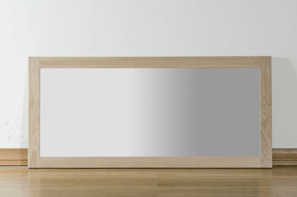 Buy Toulouse Oak Wall Mirror – Large Online – Cfs Uk For Large Oak Mirrors (View 14 of 20)