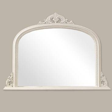 Inspiration about Buy White Overmantle Mirror Online – Artifax Mirrors In White Overmantle Mirrors (#12 of 30)