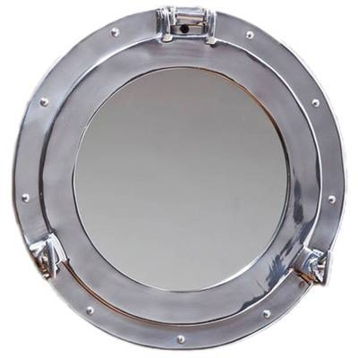 Cape Craftsmen Porthole Wall Mirror & Reviews | Wayfair Throughout Porthole Wall Mirrors (View 10 of 20)
