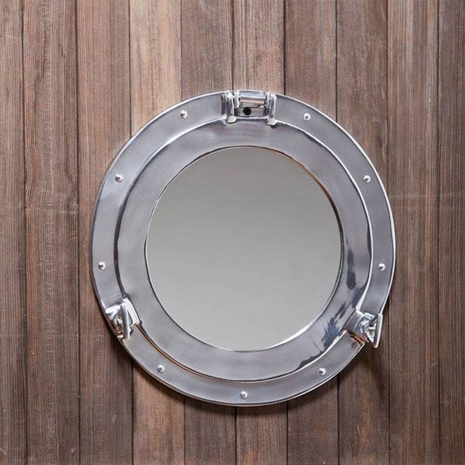 Cape Craftsmen Porthole Wall Mirror & Reviews | Wayfair With Porthole Wall Mirrors (View 5 of 20)