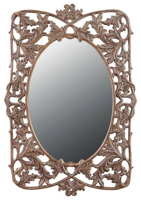 Caroline Floor Mirror – Victorian – Floor Mirrors  Galaxy Home Regarding Victorian Floor Mirrors (#9 of 30)