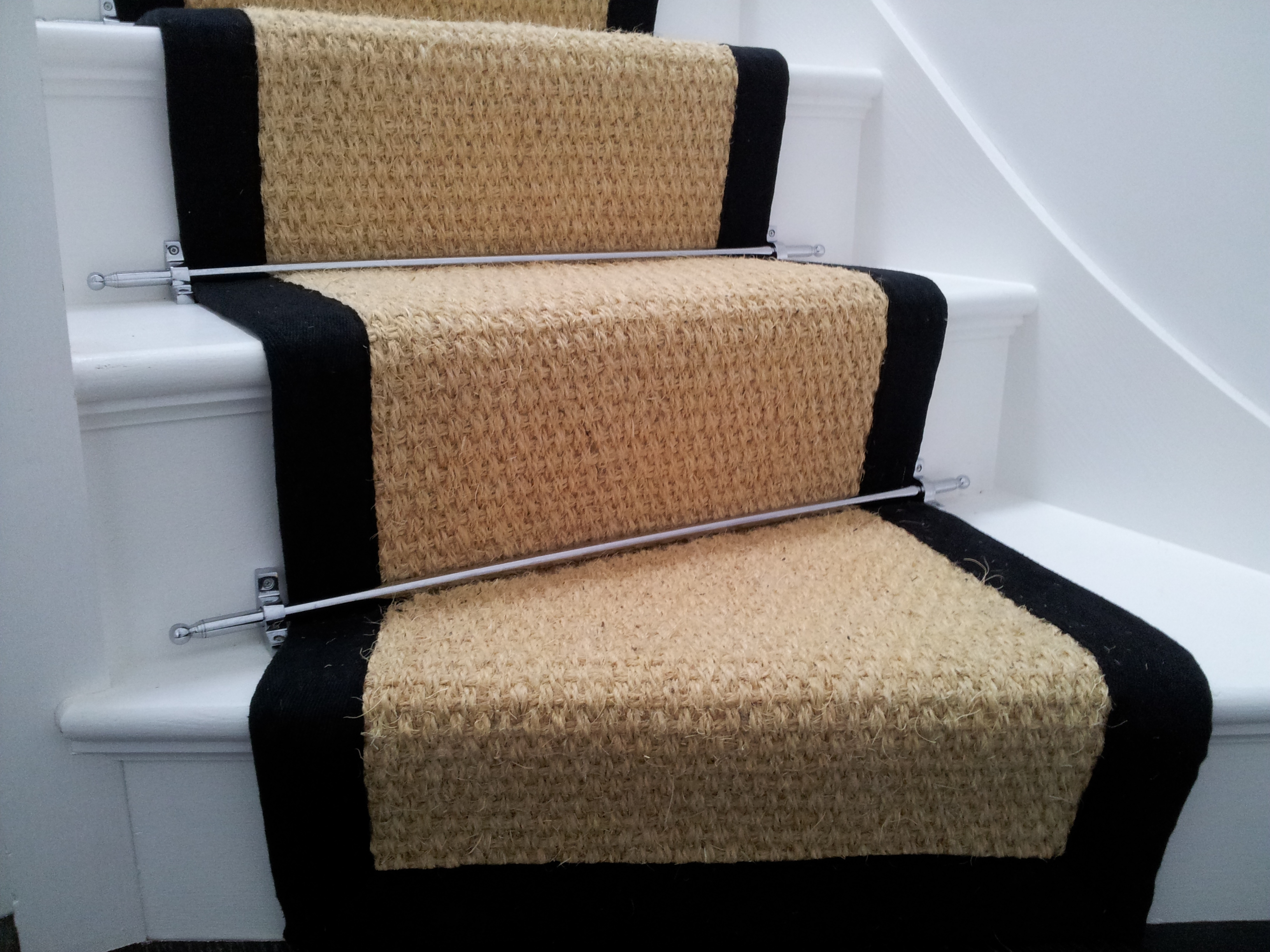 Carpet On Stairs Custom Stair Runner Westchester House And Home Intended For Stair Tread Rug Gripper (#3 of 20)