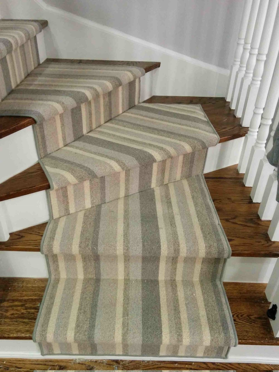 Carpet Runner For Stairs Cheap Removing Carpet From The Stairs For Striped Hallway Runners (#8 of 20)
