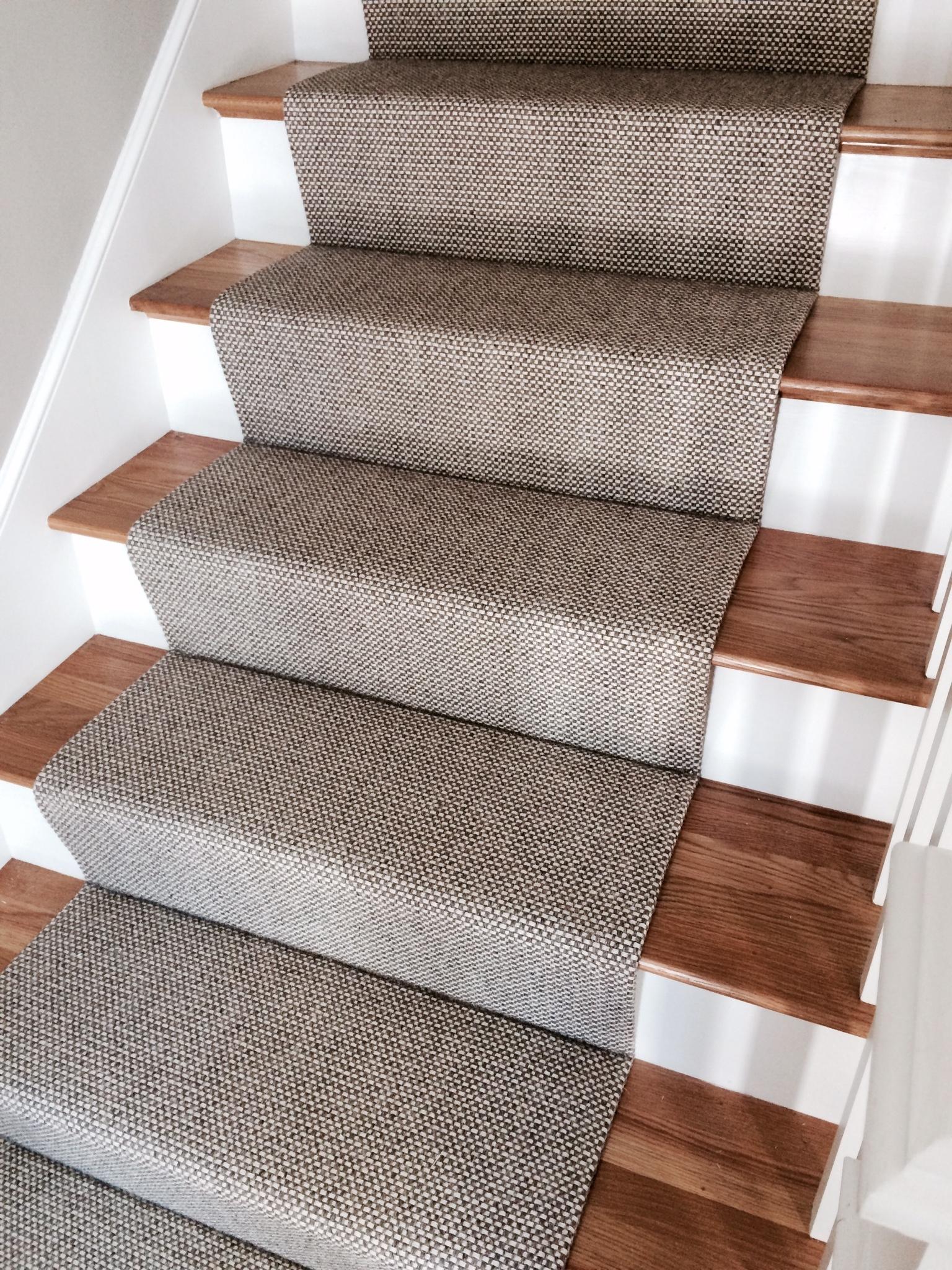 Carpet Runner For Stairs In Custom Stair Tread Rugs (#4 of 20)