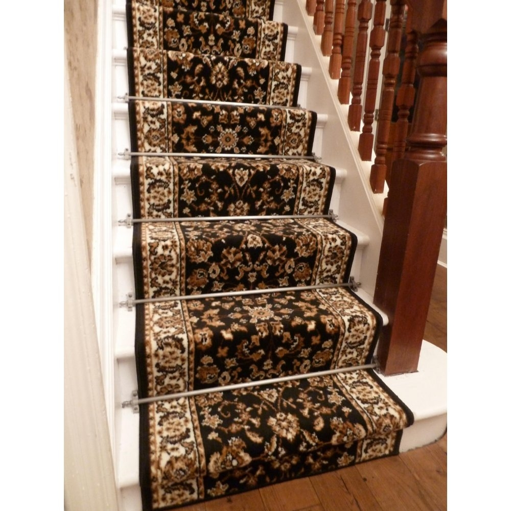 Carpet Runner For Stairs Over Carpet Video And Photos Throughout Rug Runners For Stairs (#4 of 20)