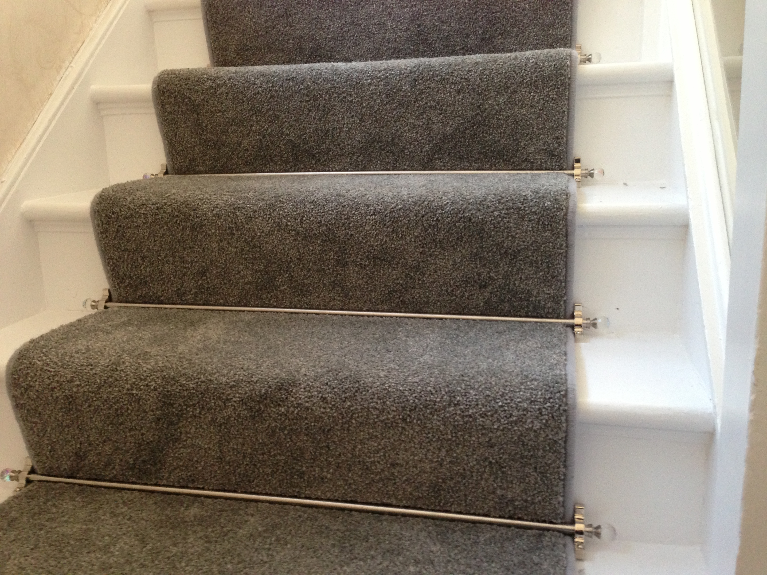 Carpet Runner For Stairs Within Stair Tread Carpet Rods (#7 of 20)
