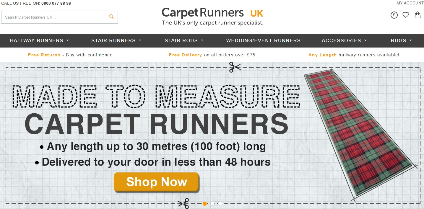 Carpet Runners Voucher Codes Discount Codes 10 Off Inside Hall Runners Any Length (#14 of 20)