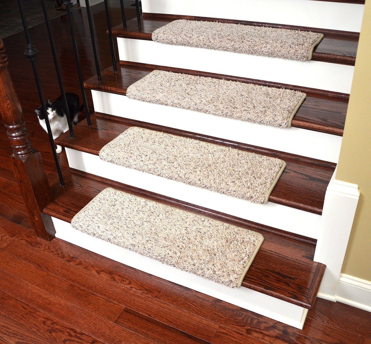 Carpet Stair No Slip Stair Carpet Natural Stair Carpet Or Wood Within Removable Carpet Stair Treads (#8 of 20)