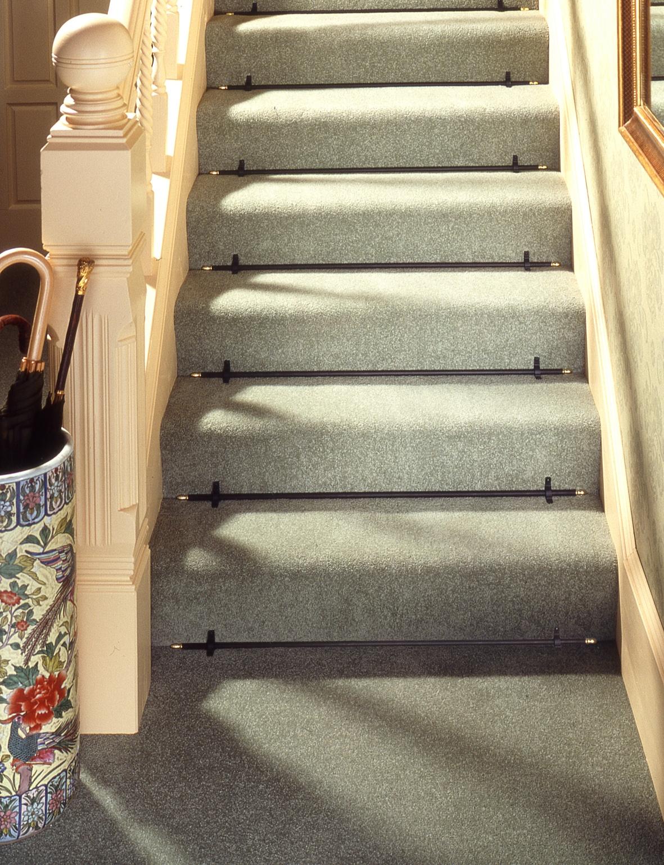 Carpet Stair Rods Regarding Stair Tread Carpet Rods (#8 of 20)