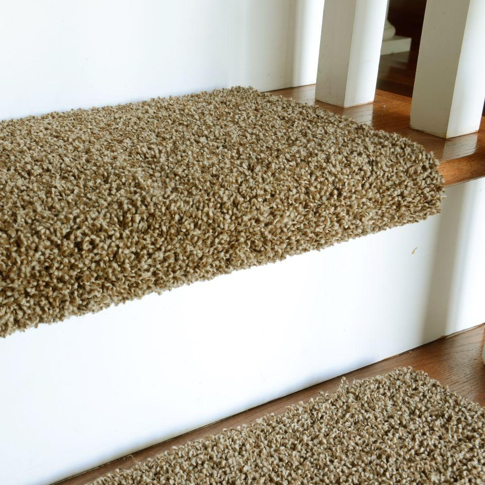 Carpet Stair Treads Material Carpet Stair Treads The Current Regarding Diy Stair Tread Rugs (#2 of 20)