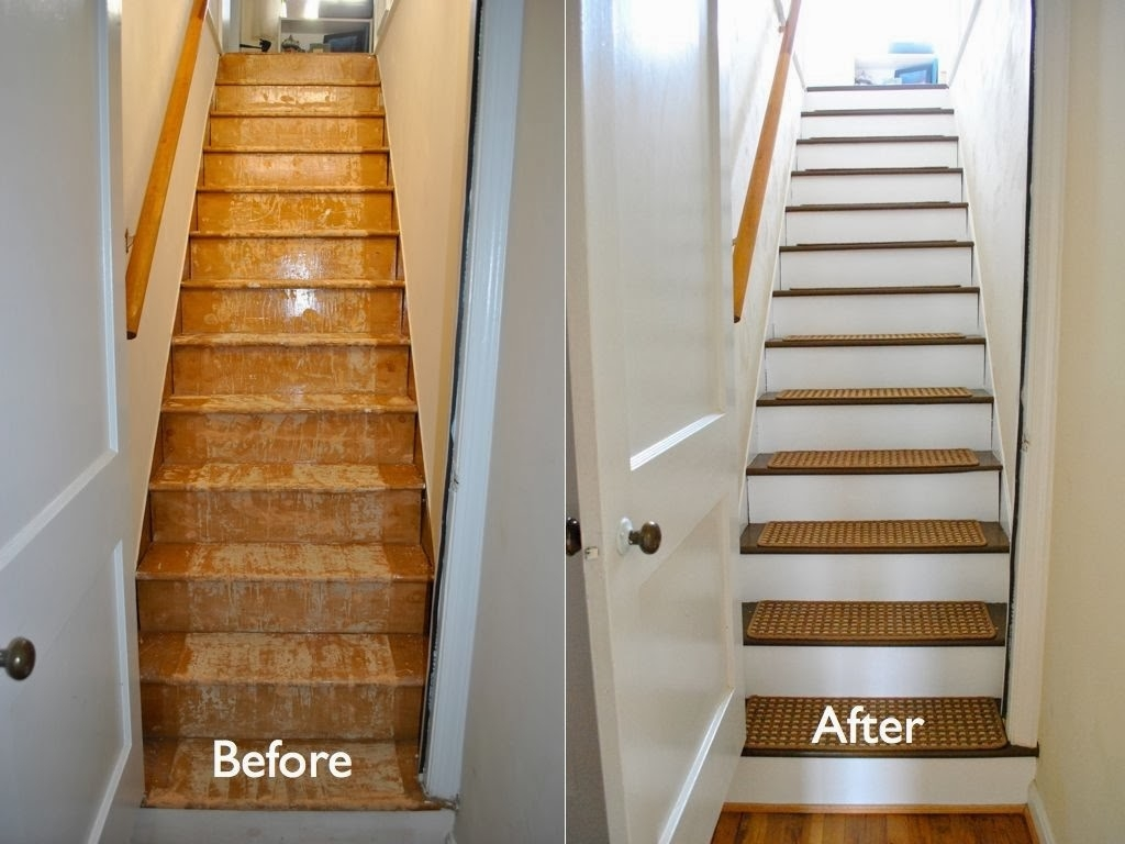 Carpet Stair Treads Regarding Nonskid Solid Stairtread Rugs (View 3 of 20)