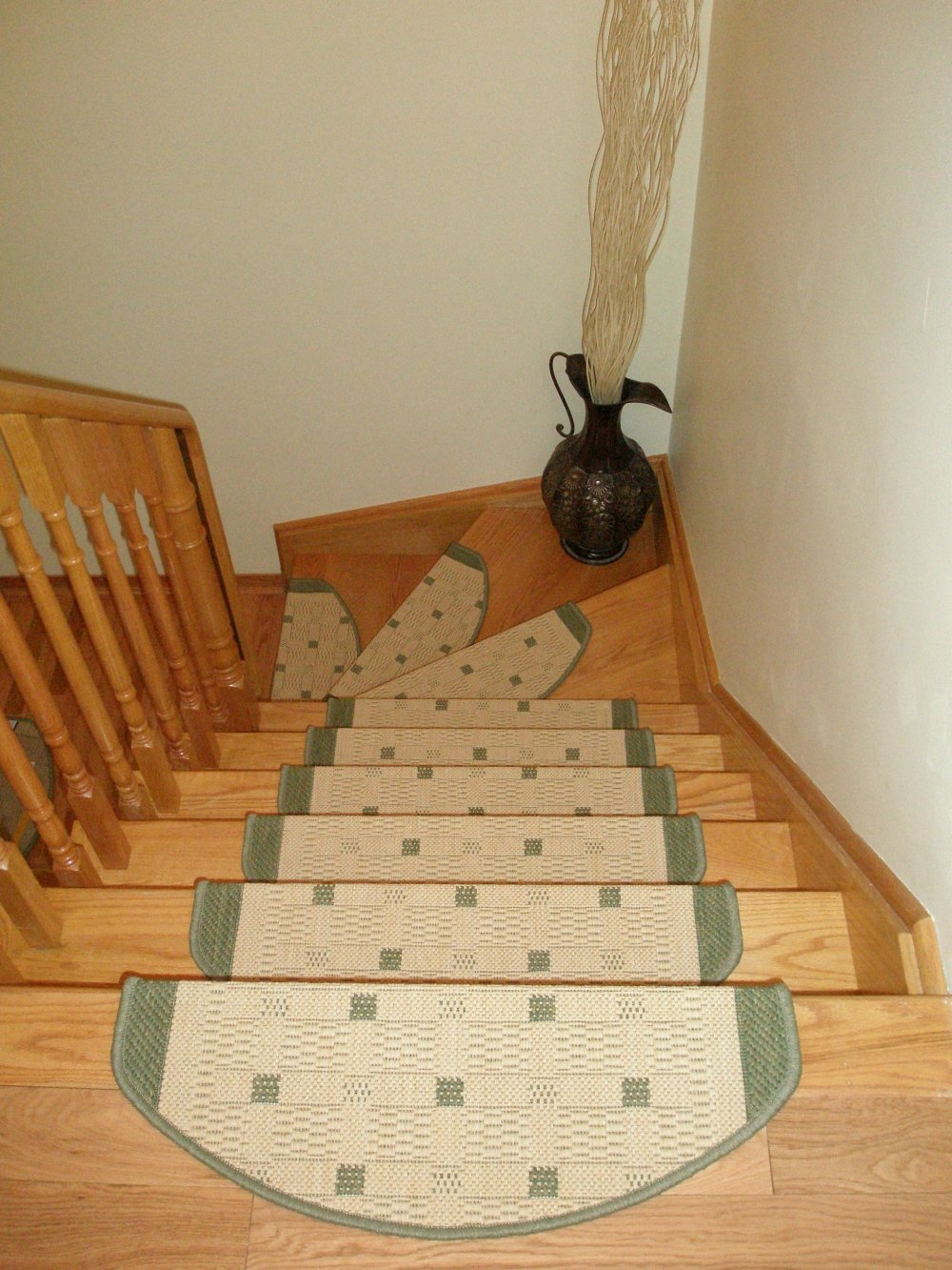 Carpet Stair Treads Stair Mats Stair Rugs With Regard To Stair Tread Rug Pads (#3 of 20)