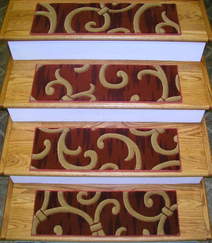 Carpet Stair Treads With Regard To Stair Tread Carpet Rugs (#2 of 20)
