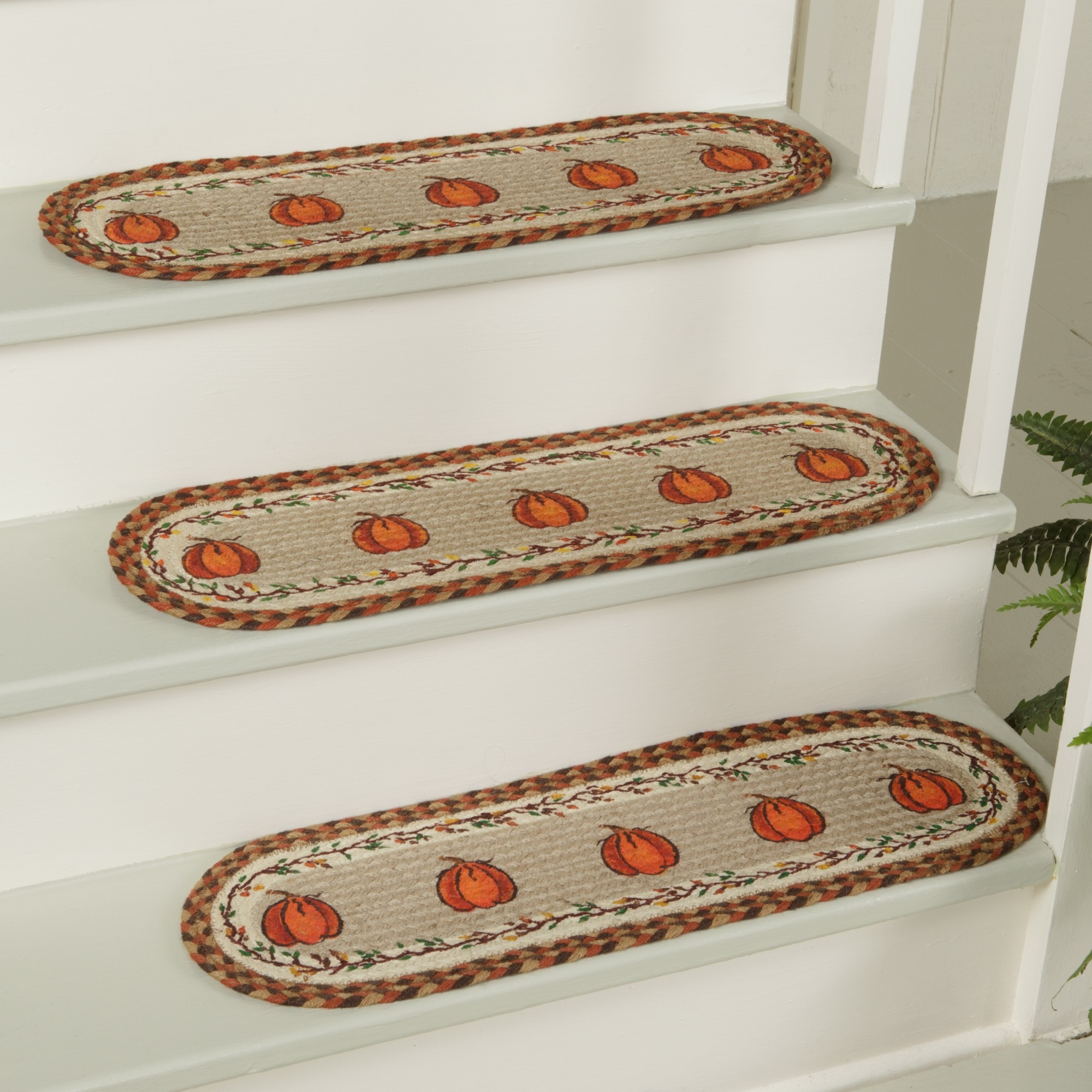 Carpet Treads For Indoor Stairs Stair Treads Carpet Best 25 With Regard To Braided Rug Stair Treads (#8 of 20)