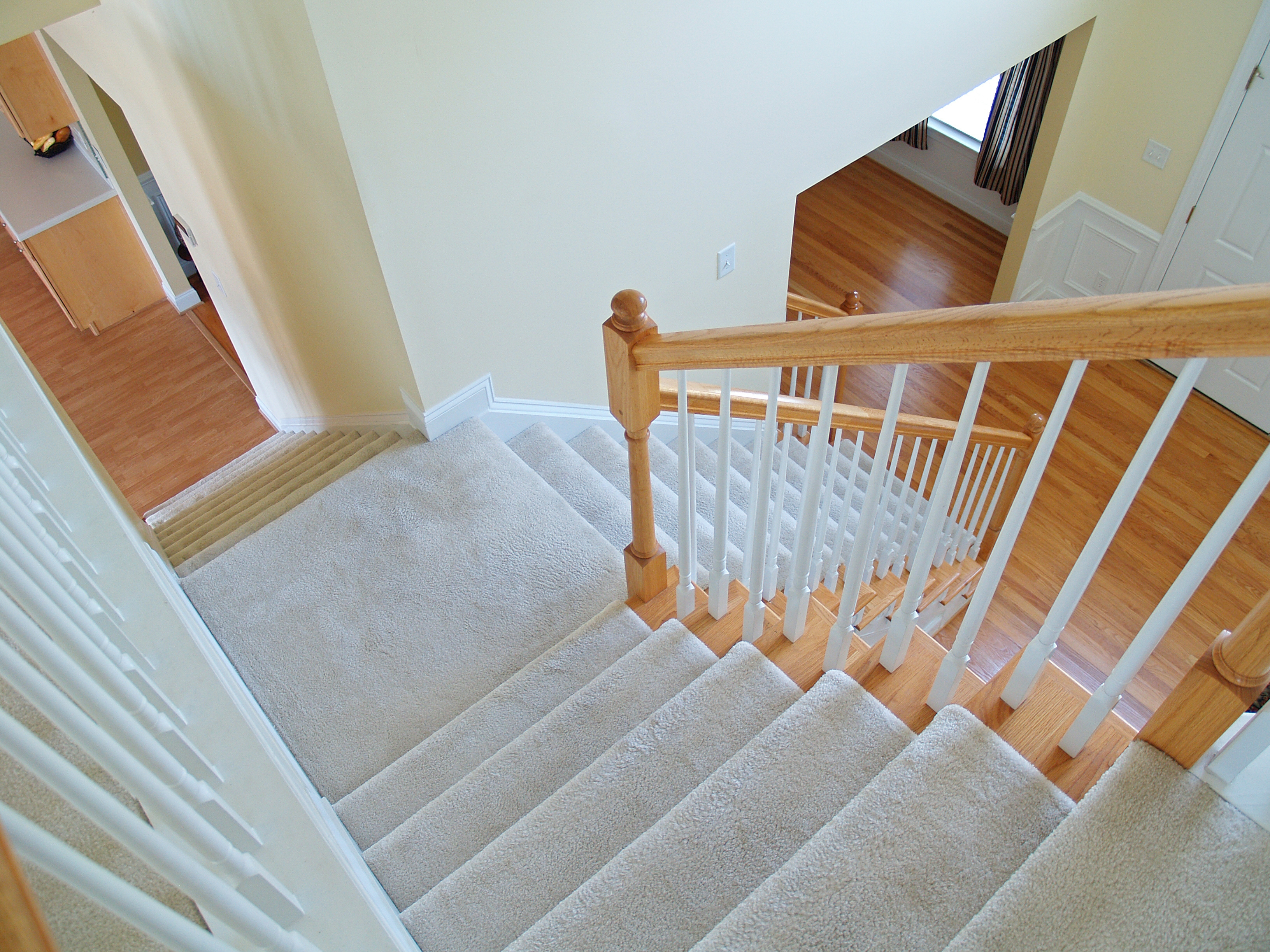 Carpet Vs Hardwood Stairs Which Would Increase My Resale Value With Regard To Carpet For Wood Stairs (#7 of 20)