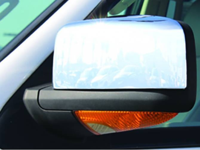 Carrichs Chrome Mirror Covers – Realtruck For Chrome Mirrors (View 10 of 20)