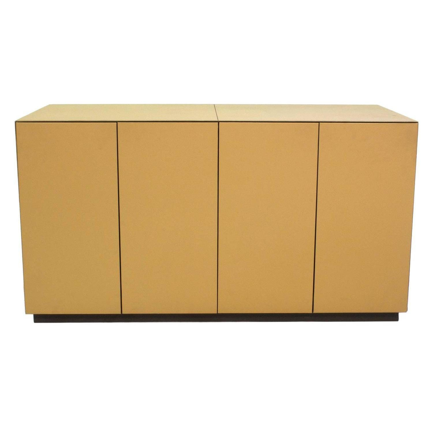 Ceo Cube Small Cabinetmassimo Vignelli For Poltrona Frau Pertaining To Small Sideboard Cabinet (#2 of 20)