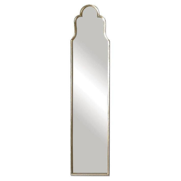 Cerano Arched Mirror Inside Free Standing Silver Mirrors (#17 of 30)