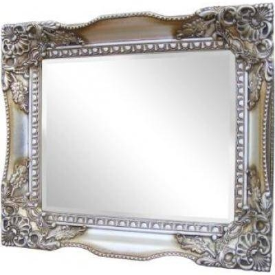 Champagne Ornate Mirrors, Classic Mirrors & Stylish Mirrors Intended For Large Silver Gilt Mirrors (#16 of 30)