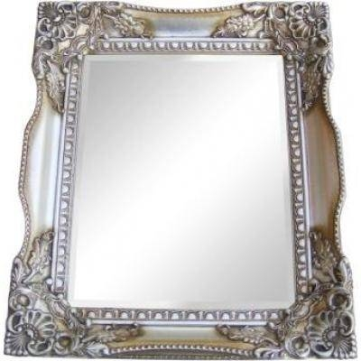 Champagne Silver Gilt Tuscany Wall Mirror  Ayers & Graces Online With Regard To Champagne Silver Mirrors (#5 of 15)