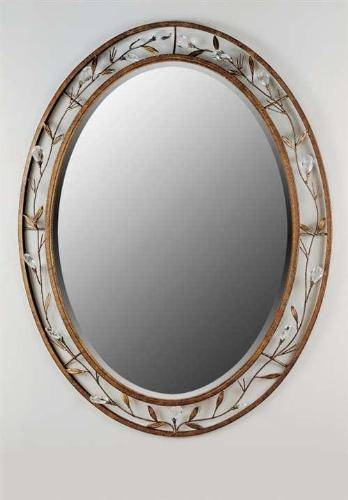 Charming Decorative Bathroom Mirrors Oval Bathroom Mirrors Ashton Pertaining To Large Oval Mirrors (#9 of 20)