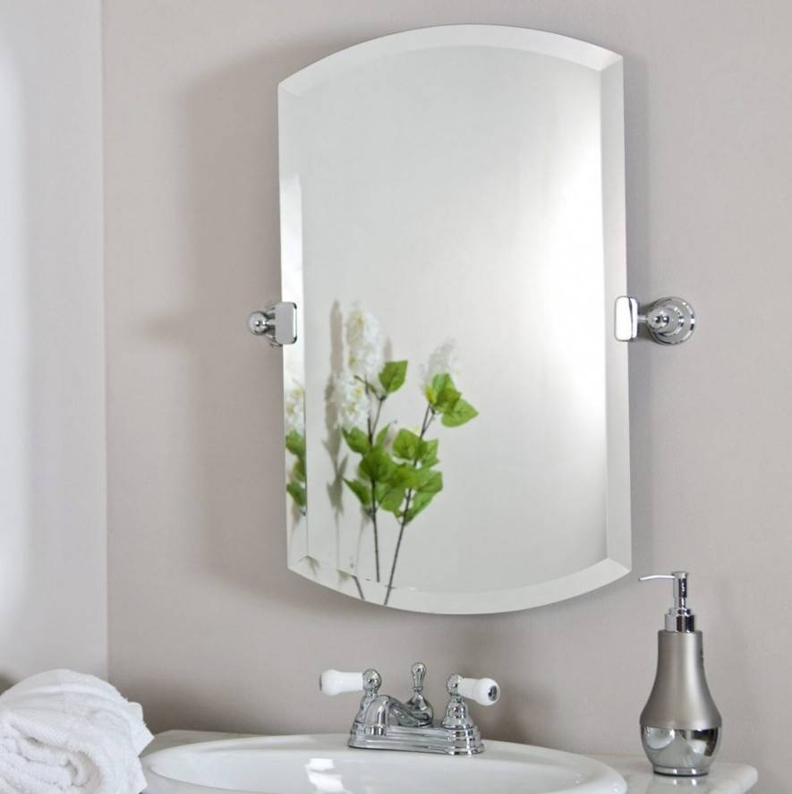 Charming Decorative Bathroom Mirrors Oval Bathroom Mirrors Ashton Within Wrought Iron Bathroom Mirrors (#15 of 30)