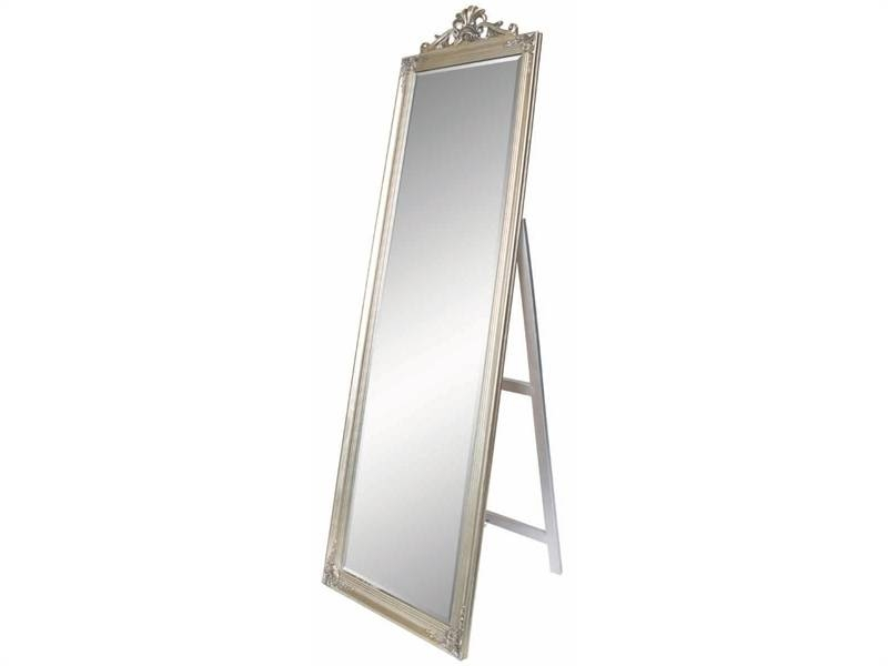 Chatelle Silver Freestanding Mirror Regarding Free Standing Silver Mirrors (#18 of 30)