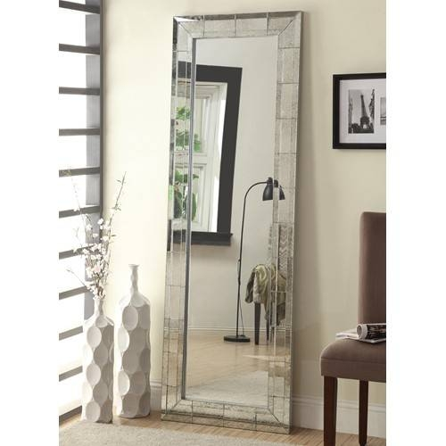 Cheap Mirrors For Sale In Glendale, Ca – A Star Furniture Throughout Long Silver Mirrors (#16 of 30)
