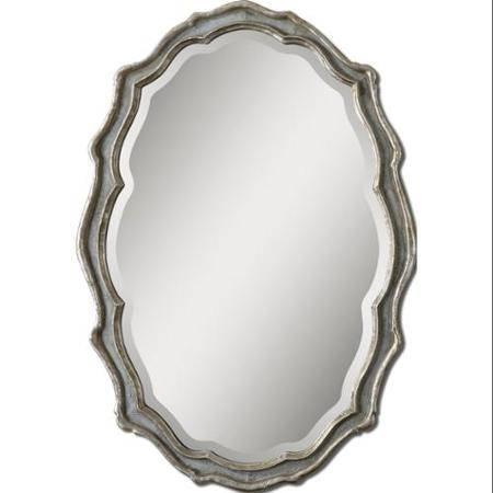 Cheap Silver Oval Wall Mirror, Find Silver Oval Wall Mirror Deals Within Oval Bevelled Mirrors (#10 of 30)