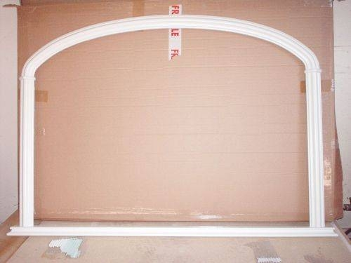 Inspiration about Chelsea White Painted Overmantle Mirror Regarding White Overmantle Mirrors (#21 of 30)